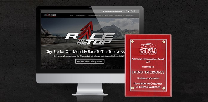 2016 Automotive Communications Award Race To The Top Newsletter